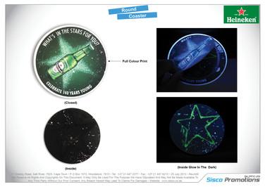 Heineken - Round Coaster