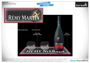 Remy Martin Bar Mat