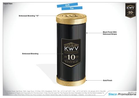 KWV Gift Tin