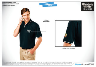 Windhoek Draught - Golf Shirt