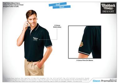 Windhoek Draught - Golf Shirt
