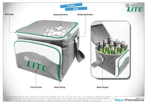 Castle Lite Cooler Bag