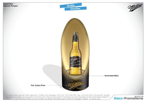 Miller - Bottle Glorifier