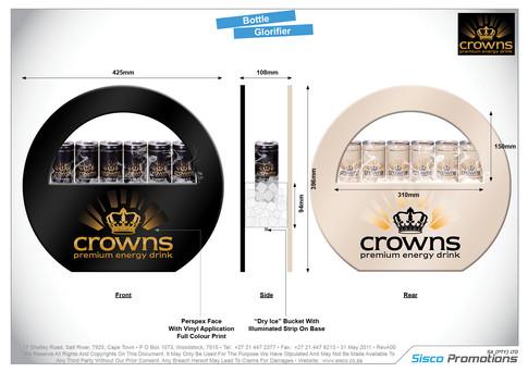 Crowns - Bottle Glorifier