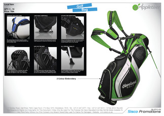 Appletiser - Golf Bag