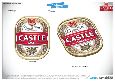 Castle Coasters