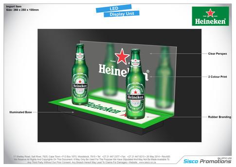 Heineken - LED Display Unit