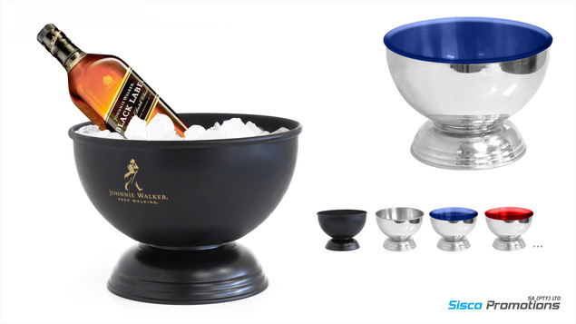 Perfect Serve Champagne Spirit Ice Bowl