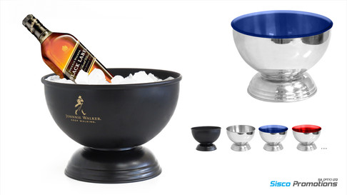 Perfect Serve Champagne Spirit Ice Bowl