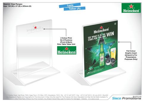 Heineken - Table Talker
