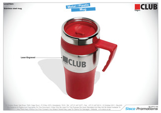 Edgars - Metal / Plastic Mug / Flask