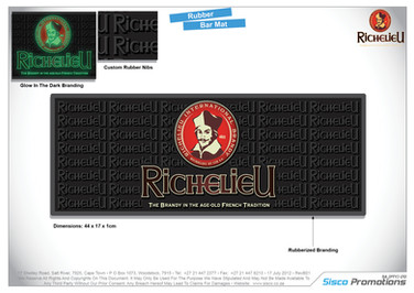 Richelieu Bar Mat
