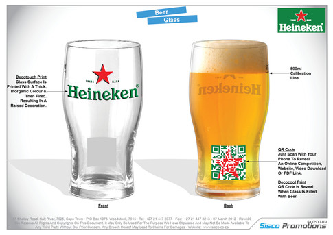 Heineken Glass