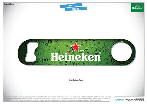 Heineken Bar Blade