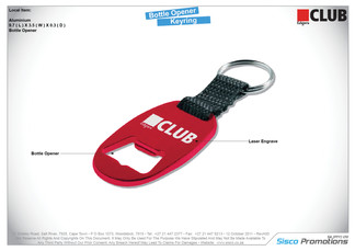 Edgars - Bottle Opener Keyring