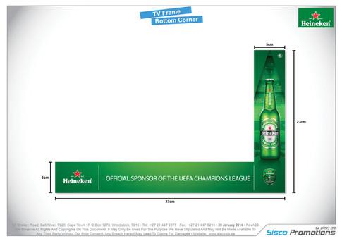 Heineken - TV Frame Bottom Corner