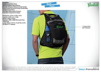 Grolsch - Back Pack