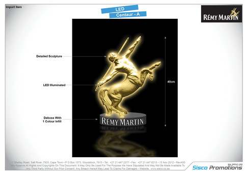 Remy Martin - LED Centaur