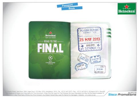 Heineken - Passport Book
