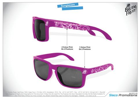 Brutal Fruit Sunglasses
