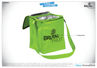 Brutal Fruit - 6 Pack Cooler Bag