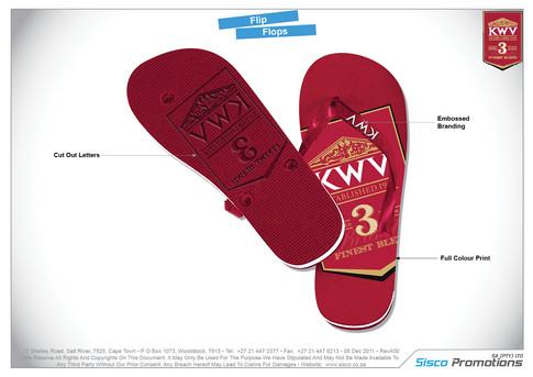 KWV Flip Flops