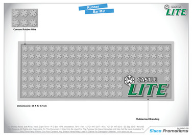 Castle Lite Bar Mat