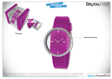 Brutal Fruit Wrist Watch