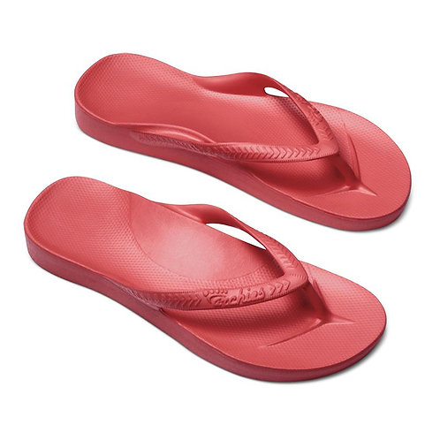 Coral - Archies -Arch Support Jandals