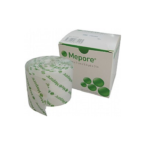 Mepore adhesive absorpbent dressing