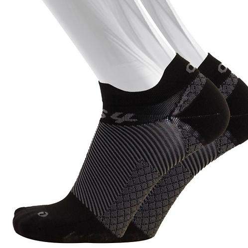 OS1st OrthoSleeve FS4 Plantar Fasciitis Socks - Black