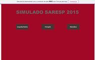 SIMULADO SARESP 2015