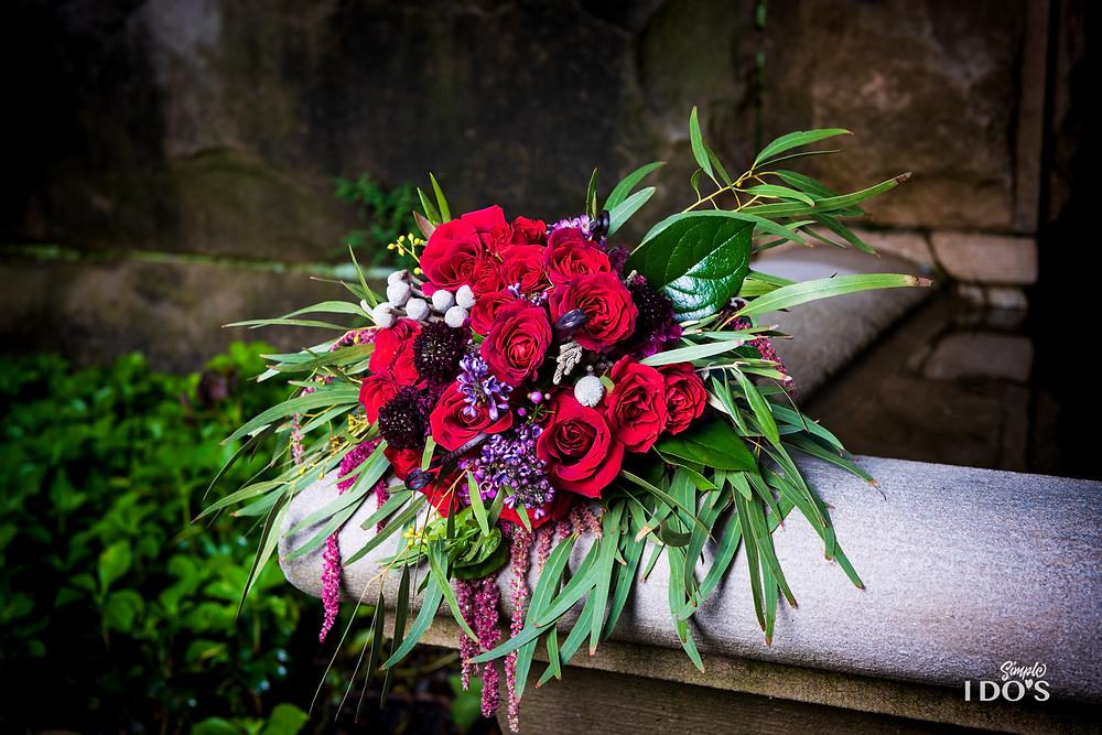 McKenzie Botanicals, Themed Wedding Bouquet, Harry Potter Themed Wedding,