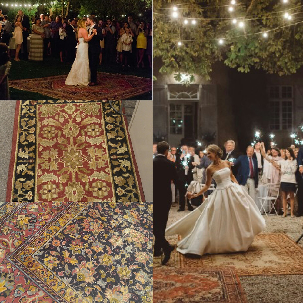 Vintage Bird Cage Rental, Rug Rentals, Wedding rentals