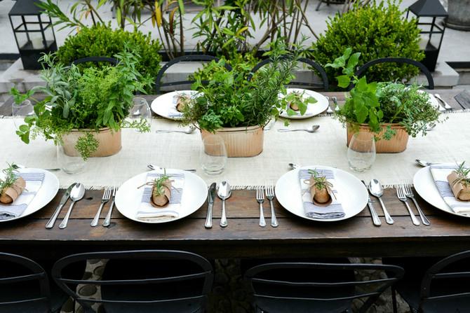 Botanical Herbs & Wedding Design!