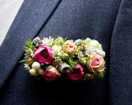 Pocket flowers for Boutonnieres - Men's flower image