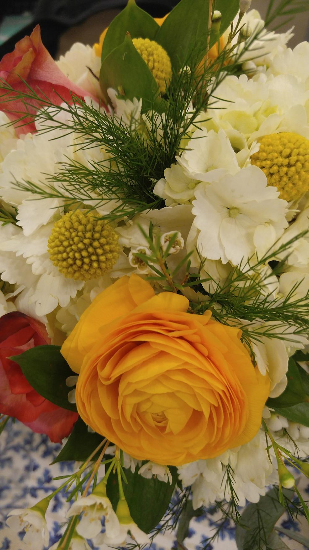 Textured bridal bouquet, WNC floral and event design, McKenzie Botanicals