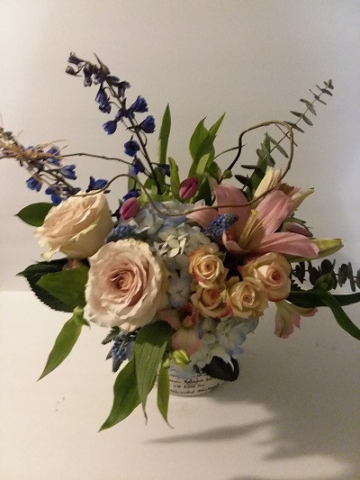 Valentine Flowers, Custom floral design, Mckenzie Botanicals