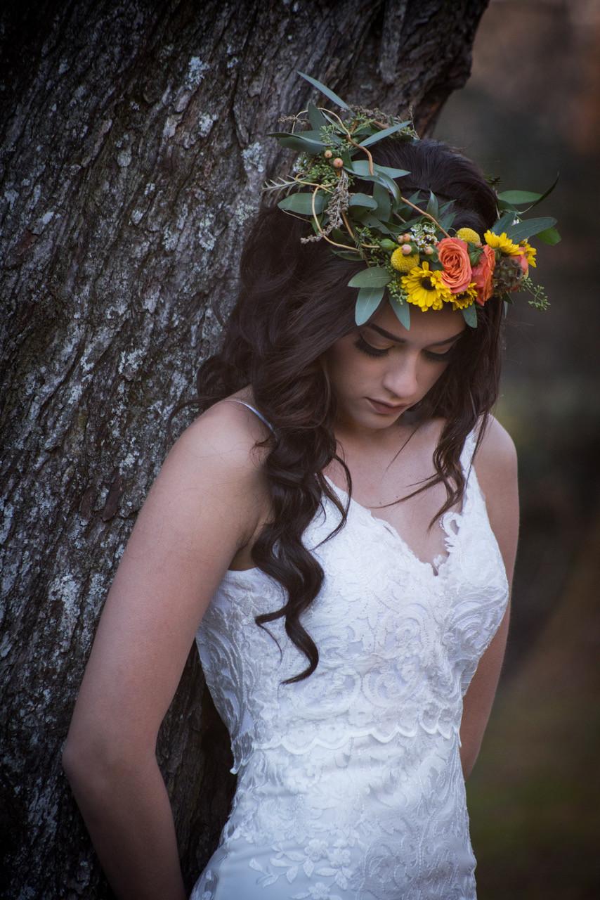 Mark Robertson Photography, Wedding Halos, Rustic wedding