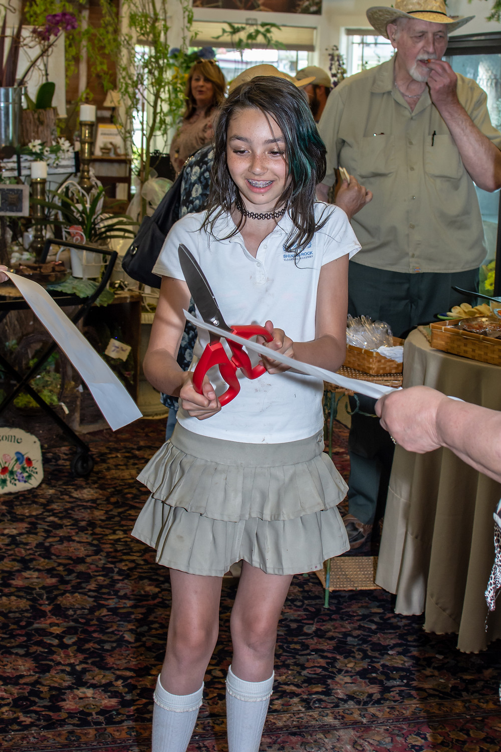 Ribbon cutting - New location  - Flower Shop - Maggie Valley