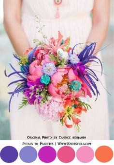 Crazy Cool Wedding Colors, Pinterest Image