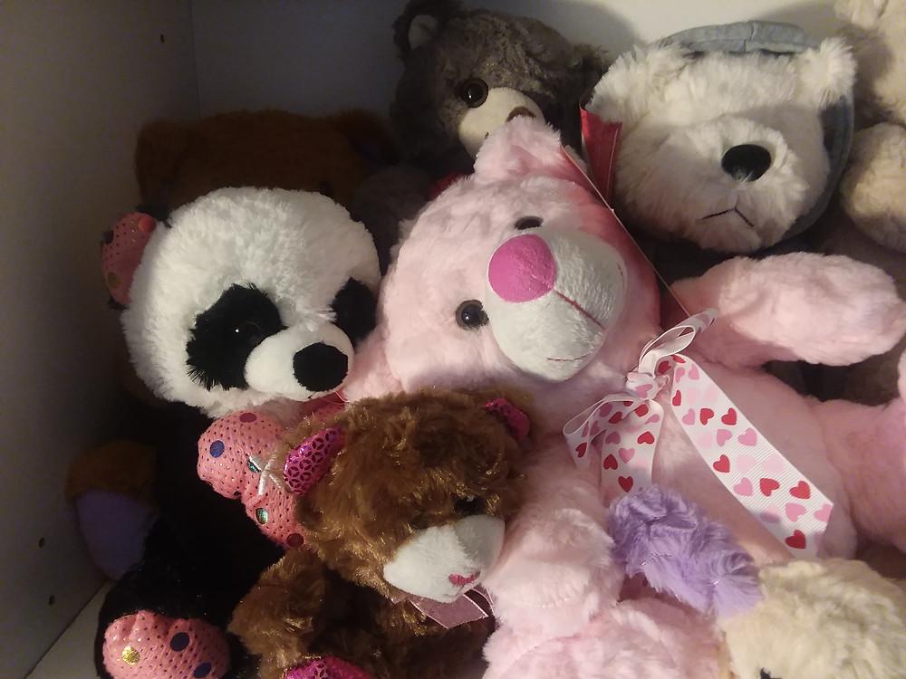 #valentinebear, #stuffedanimals, #plush