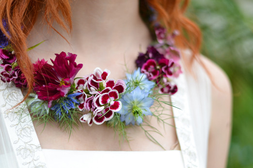Image of floral jewelry