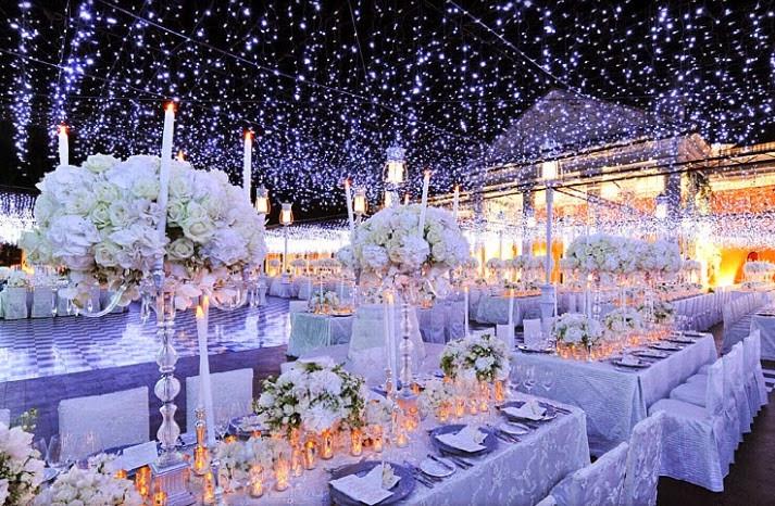 Winter Wedding Floral Decor - image