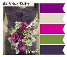 Rich Warn Colors, Wedding Color Choices, Pinterest Image