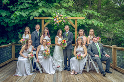 Peeler Wedding Party