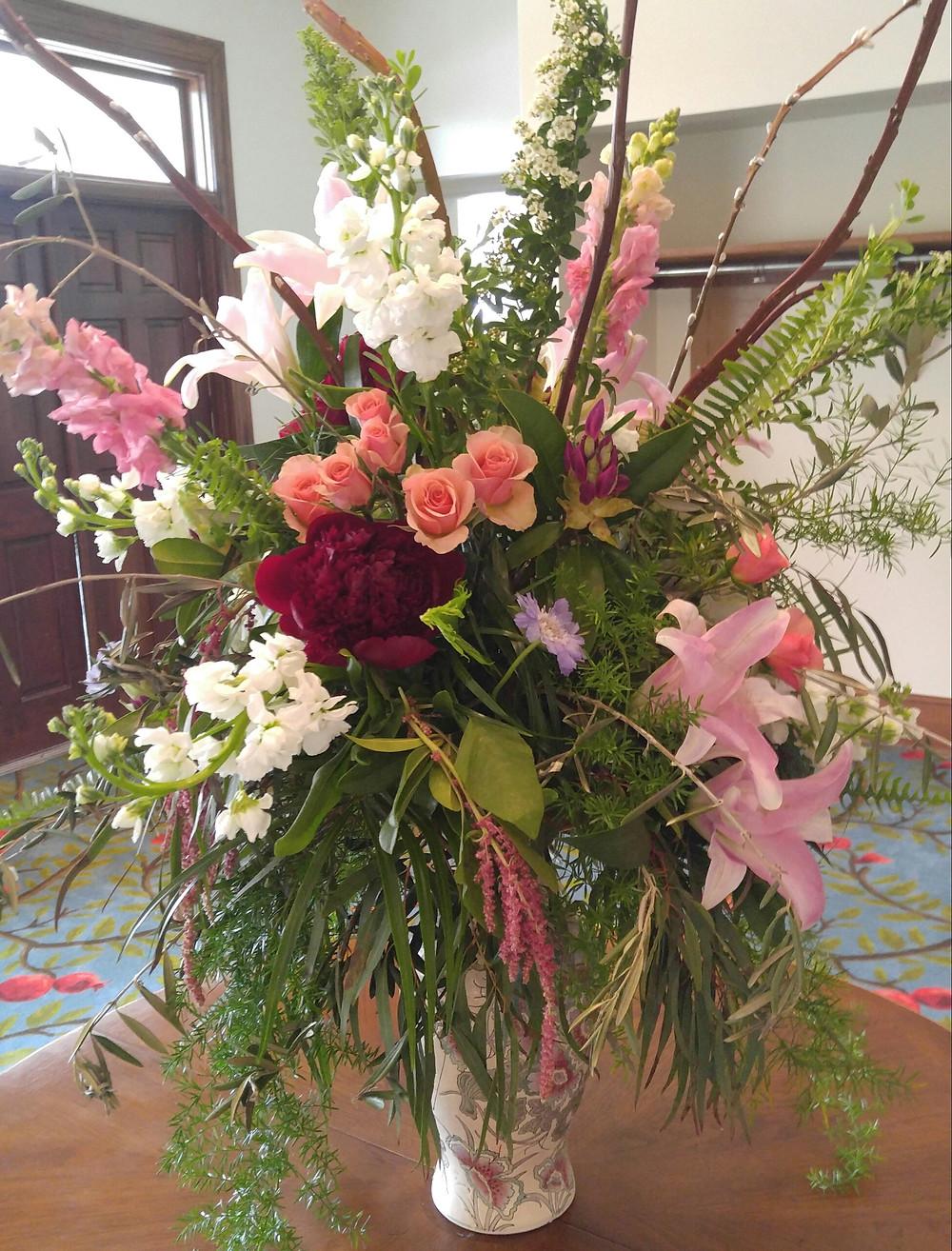 Grand Opening Flowers, Lambuth Grand Re-Opening, Lake Junaluska Event, McKenzie Botanicals