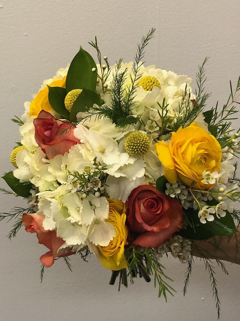 Wedding bouquet, McKenzie Botanicals, Belk Engagement Party
