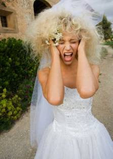 Stressed Bride Image
