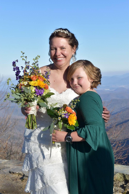 Buck Springs Gap / Harrington wedding